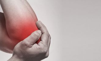 Epicondylitis kinesiotherapy and massage